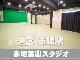 東京都 港区 千代田線 赤坂駅の赤坂サカス近くにある レンタルスタジオ 地下にある為 タップやフラメンコなど音出しの激しいダンス教室が可能 ミニ発表会や動画撮影に便利なクロマキー対応の壁