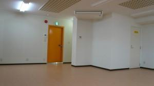 防音 性が高いドアがついているレンタルスタジオ