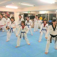 テコンドー 日本代表 選手 が 中野 レンタルスタジオ で直接指導 テコンドー 教室